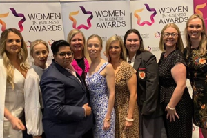 Women in Business award win