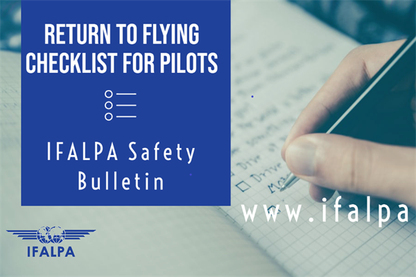 Return to Flying Checklist